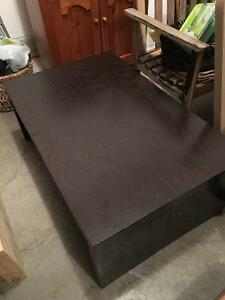 Espresso Brown Coffee Table For Sale - Good Condition Kitchener / Waterloo Kitchener Area image 1