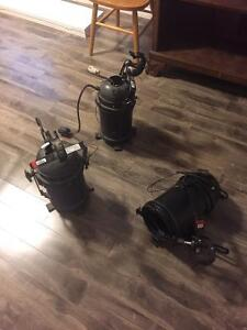 3 industrial movie camera lights from a tv show in Toronto Cambridge Kitchener Area image 2