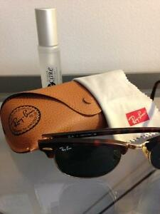Ray-Ban Clubmaster Tortoise/Gold Sunglasses Windsor Region Ontario image 7