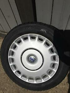 WINTER IS HERE EARLY! 205/55 R16 winter tires, rims, hubcaps
