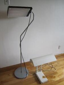 2 lampes de luminothérapie escellent état!