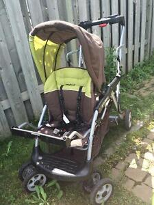 Poussette double babytrend Sit-N-Stand LX