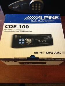Alpine CDE-100 Car Audio