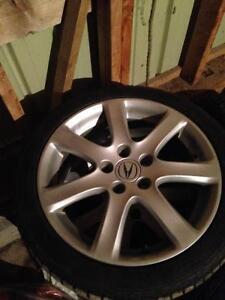 """17""""  Acura TSX rims"""