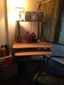 Computer Desk & Office Chair