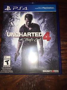 Uncharted 4 and MLB The Show 2016 - ps4 games