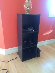 Black 3 Tier Shelf