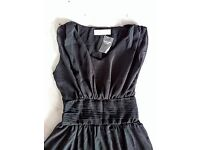 Abercrombie & Fitch black dress ladies S/M new with tags