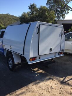 hiDrive ALLOY Ute Canopy, with 3 doors, full length slide 2.1m Length