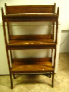 Antique Folding Bookcase