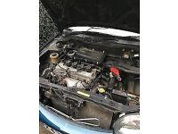 Nissan micra blue automatic 1.0L 12 months Mot