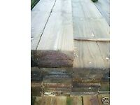 6x1x4.8m(16ft) New Pressure Treated Sawn Timber Trade Packs