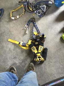 Harnesses and cable climbing gear