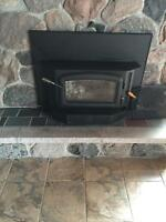 Regency wood burning fireplace insert