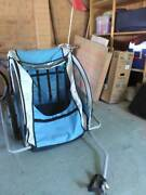 Double baby bike trailer - Running pram Holder Weston Creek Preview