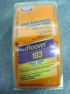 2 Brand new in the box - Hoover 103 Cyclonic HEPA Vacuum Filters