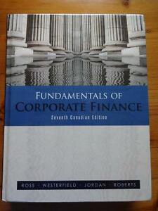 TEXTBOOK - Fundamentals of Corporate Finance - ONLY $65!