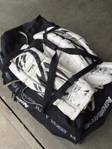 MUST SELL! Goalie pads and equipment for youth - 30+1