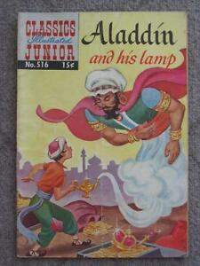Aladdin and his Lamp, Classics Illustrated Junior #516