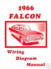 1966 FORD FALCON WIRING DIAGRAM MANUAL   eBay
