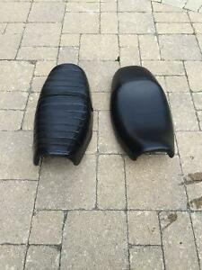 CB 400 seats mint condition solo cafe seat or 1 up