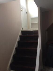 2 bedroom furnished basement  available for rent immediatly