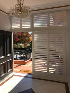 PLANTATION SHUTTERS AND BLINDS FITTED FREE SPECIAL.