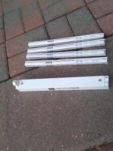 """12"""" florescent fixture and tubes"""