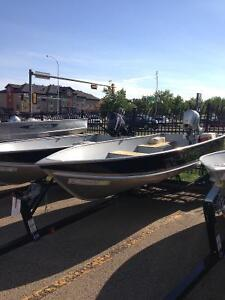 2013 14ft Lund Boat, trailer and motor