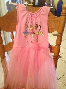 Disney ballet outfit with attached tutu