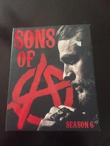 Sons Of Anarchy Season 6 Blu Ray For Sale