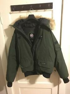 Canada Goose mens outlet official - Mens Canada Goose Bomber Jacket | Buy or Sell Clothing in Ontario ...