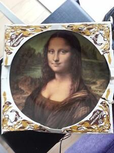 Large Mona Lisa decorative plate