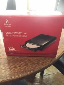 brand new in box DVD writer for PC and Mac computers/laptops
