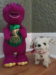 Dancing Barney and puppy Regina Regina Area image 1