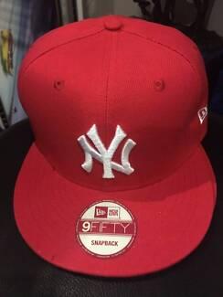 new york yankees snapback red brand new