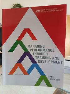 Managing performance through training and development: 7th Edn Perth Perth City Area Preview
