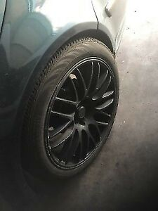 18 inch rims with tires