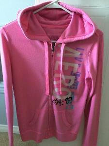 Aeropostale Light Pink Zip-Up Hoodie