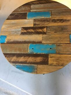 Coffee table with timber top