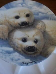 Collector's Dish - Baby Seals Prince George British Columbia image 1