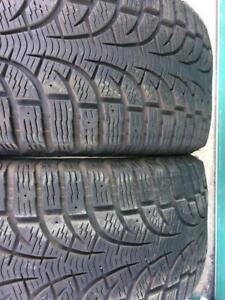2x 235 45 17 Pirelli  scorpion Winter tires Pneus D'hiver