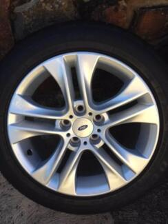 Ford FG Falcon XR6  17 inch  alloy Wheels and new tyres