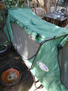 Camping enclosed screen bed Safety Beach Coffs Harbour Area Preview