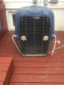 Dog kennel for sale.