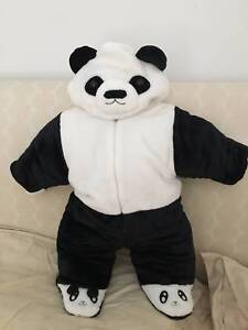 Brand new baby infant panda cosplay coverall clothes Newington Auburn Area Preview