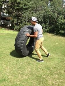 Crossfit Tires/Used tractor tires