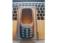 Brand New Unlocked Nokia 3310 3G 2017 Version. Sim Free
