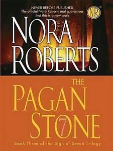 """VERY GOOD"" Roberts, Nora, The Pagan Stone (Thorndike Core), Book"