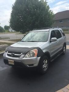 2002 CRV Fully loaded with new E-test and the strict and inclus